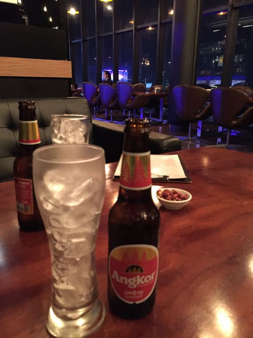 Dollar Beer in Cambodia