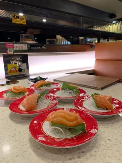 Sashimi plates
